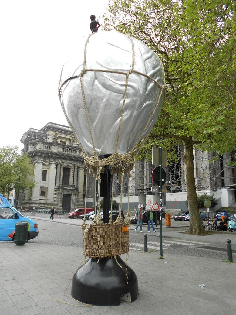 Place Poelaert, mai 2012
