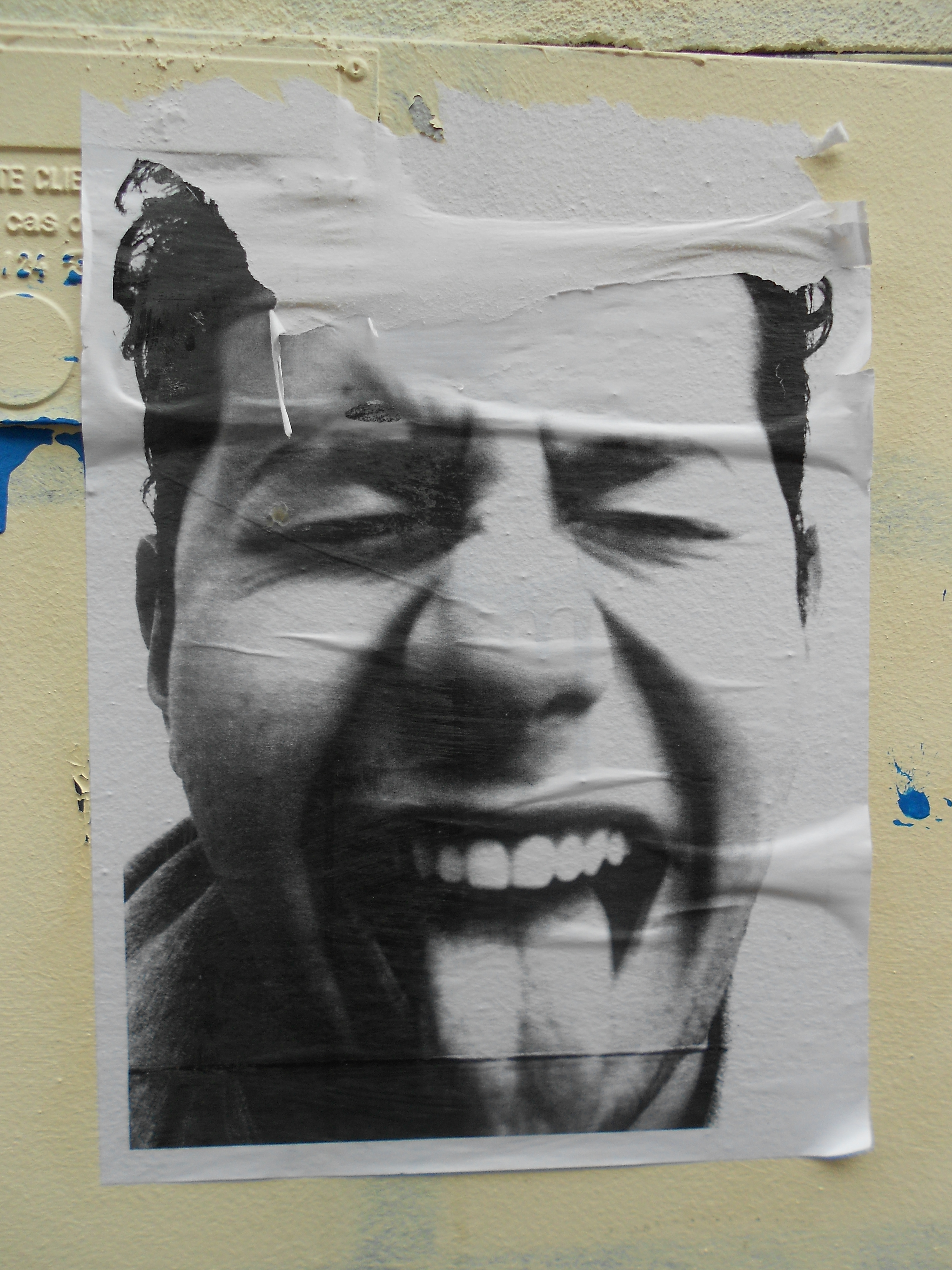 Street Art Bordeaux Collages Mars 2012 Faire Le