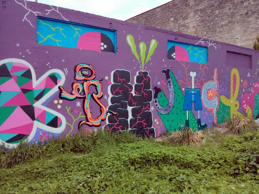 street art chartrons faire le murfaire le mur street art bordeaux et ailleurs. Black Bedroom Furniture Sets. Home Design Ideas