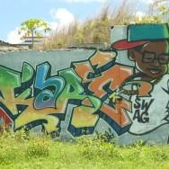 Street art Guadeloupe, Le Moule