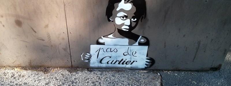 pas de cartier street art Bordeaux