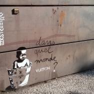 dans quel monde vuiton, street art Bordeaux