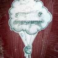 nuage street art bordeaux